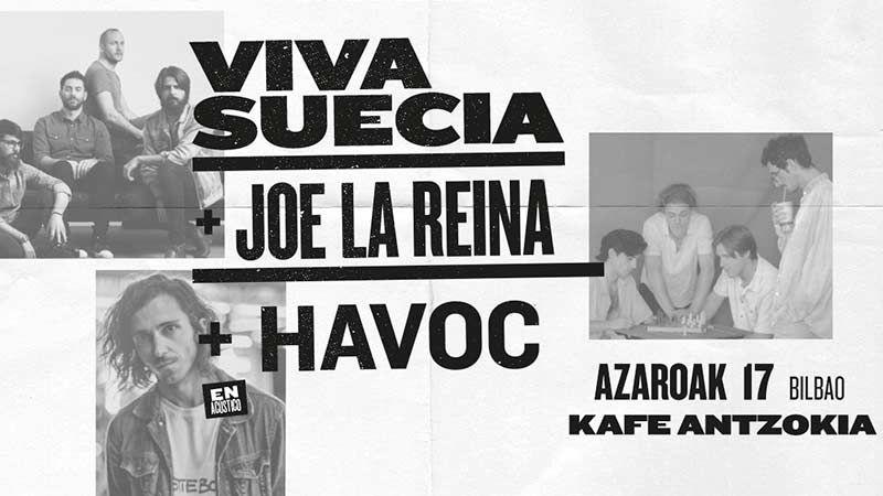 Noiz agenda agenda viva suecia joe la reina havoc for Kafe antzokia agenda